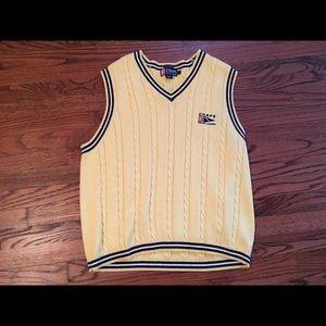 Vintage 90's Chaps Ralph Lauren Hand Framed Vest L